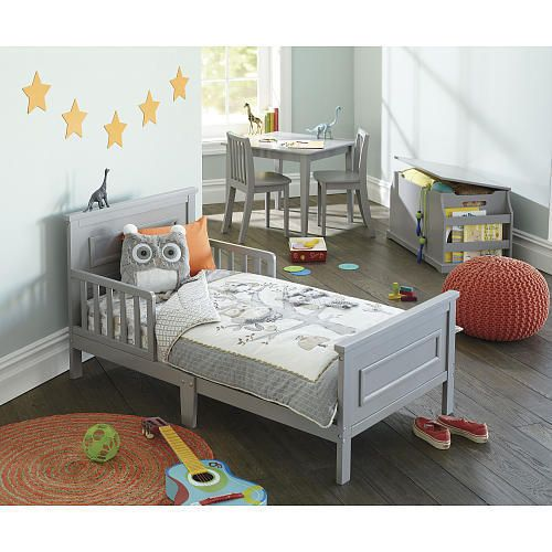 Babies R Us Next Steps Toddler Bed Grey