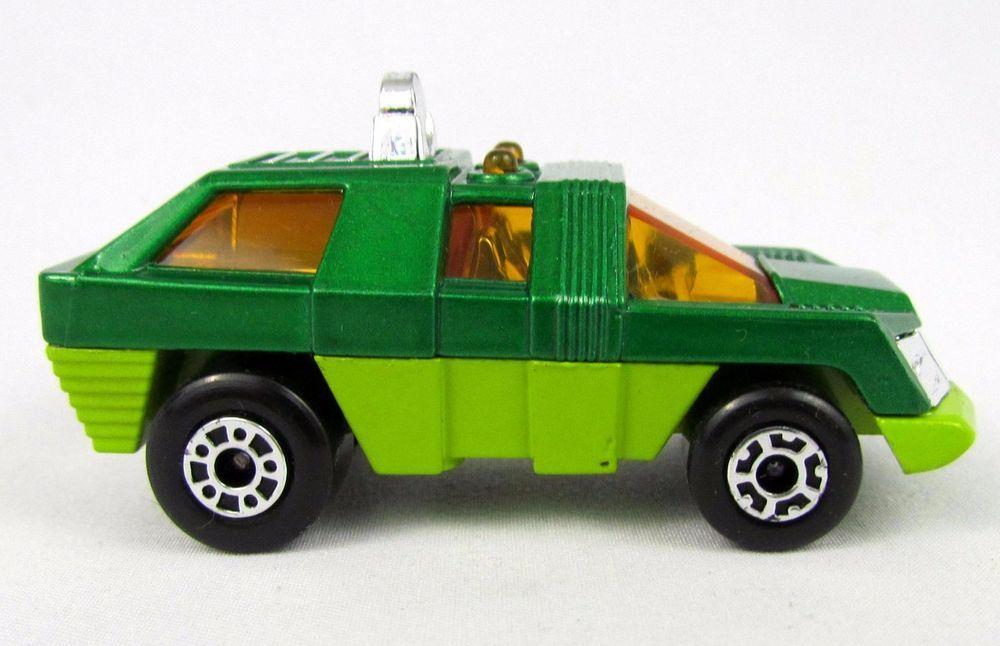 Vtg 1975 Matchbox Superfast 59 Green SCOUT Lesney