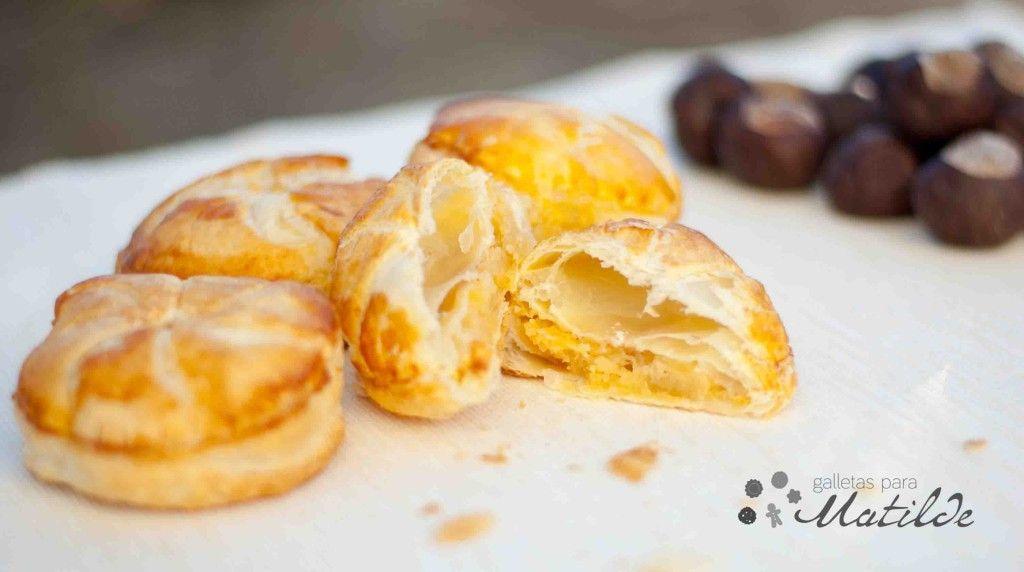 Mini hojaldres de almendra con manzana, Pithiviers