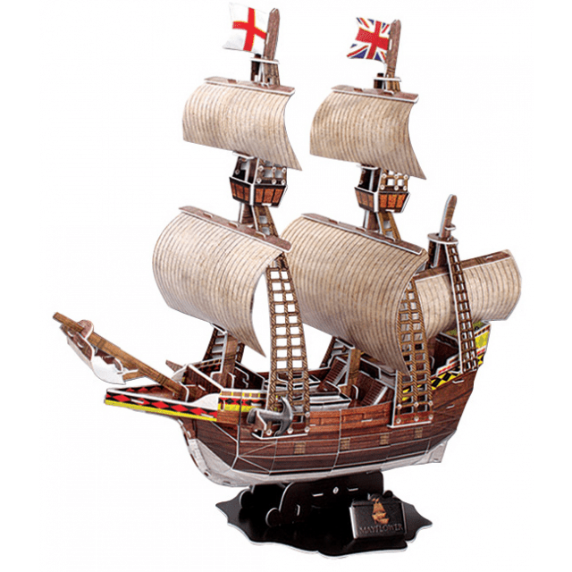 Mayflower 3D Jigsaw Puzzle by Puzzle Master in 2020