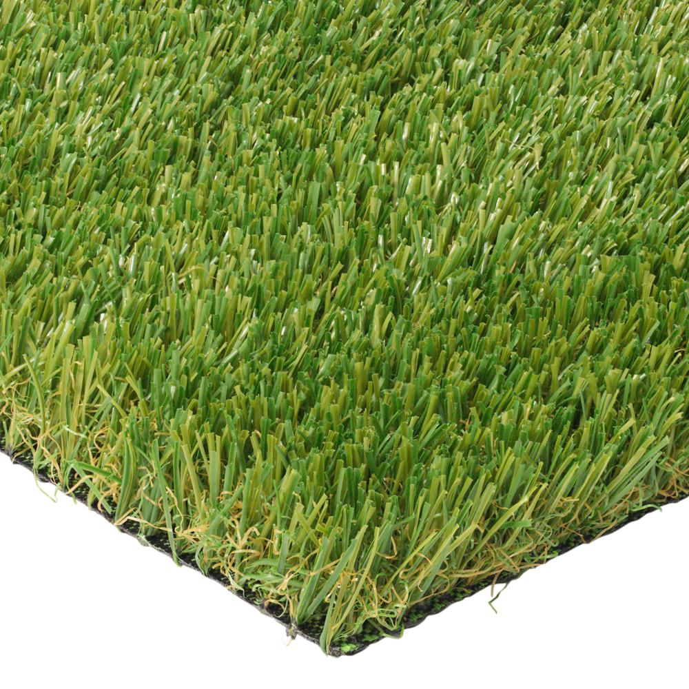 Trafficmaster Pet 3 75 Ft X 9 Ft Artificial Grass Pet Turf Stem The Home Depot In 2020 Artificial Plants Outdoor Synthetic Lawn Pet Turf