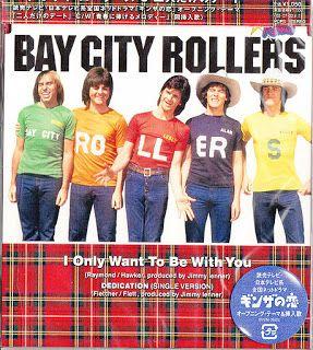 58 mm BADGE-FRIDGE MAGNET-BAG MIRROR Bay City Rollers Derek Longmuir