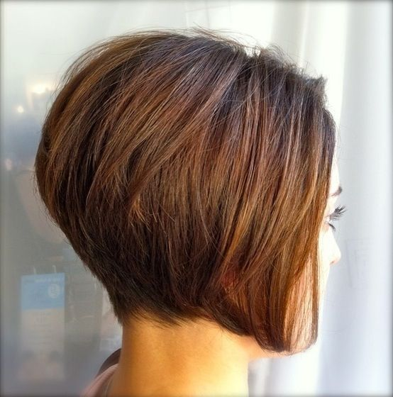 Stacked Bob Hairstyle Impressive Magnifique Carré Plongeant  Carre Plongeant  Pinterest  Hair Cuts