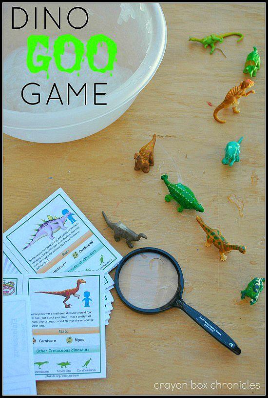 Dinosaur Goo Game Pinterest Crayon Box Dinosaur Activities And