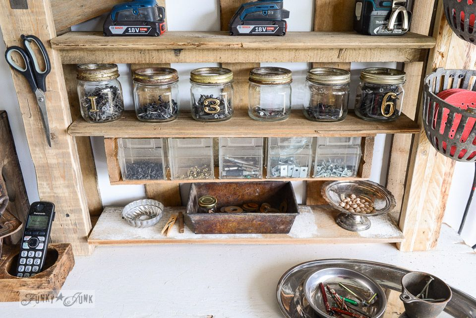 mason jar screw storage Organize your