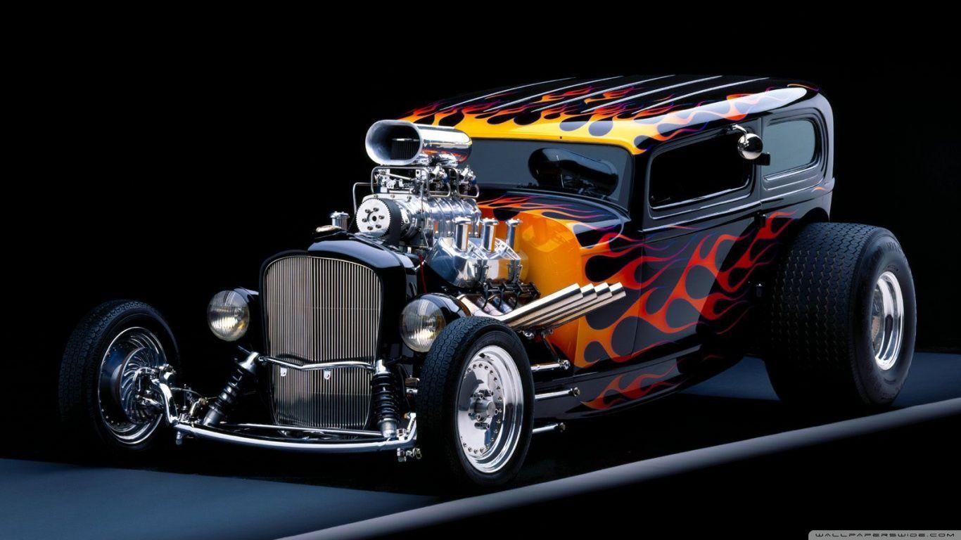 Tiesto Hq Hot Rod 1366 768 Carros Hot Rod Carros Rat Rods