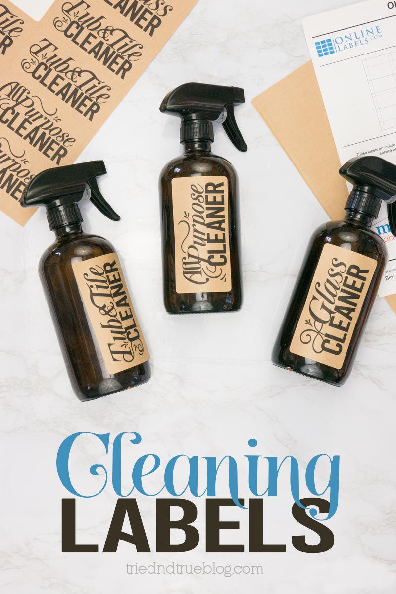 Free Cleaner Bottle Labels Svg Files In 2020 Clean Bottle