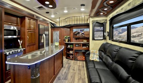 Of The Three Floor Plans Now Manufactured In The Tesla Fifth Wheel