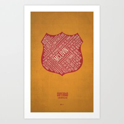 Superbad Art Print by Jerod Gibson - $20.00