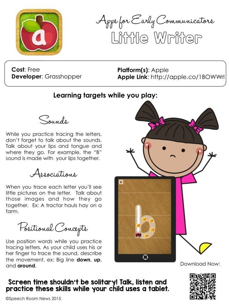 Top 5 Parent Handouts for {Preschool} SLPs | Speech ...