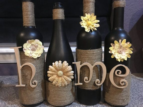 home wine bottle, home wine bottles, home decor, decoration