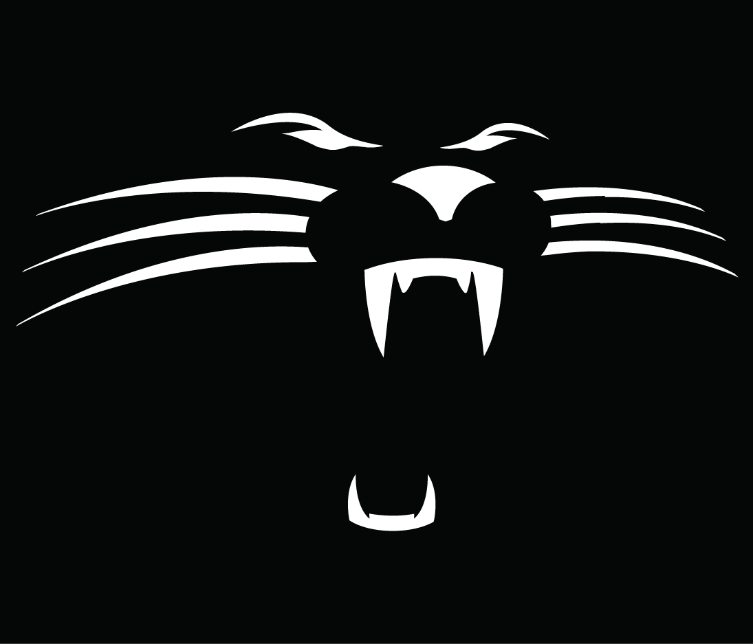 Black Panther Logos Brands And Logotypes Carolina Panthers Football Carolina Panthers Football Logo Panther Logo