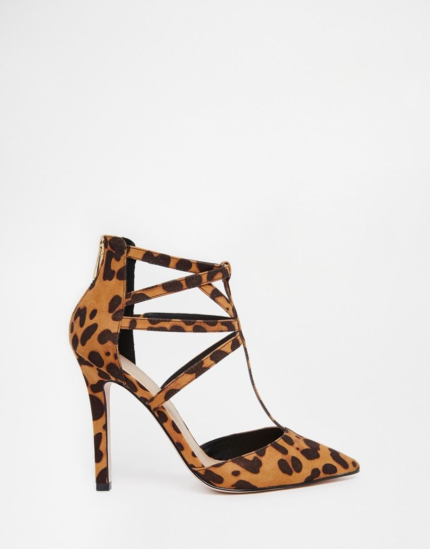 ASOS PLACEMENT Caged Pointed Heels