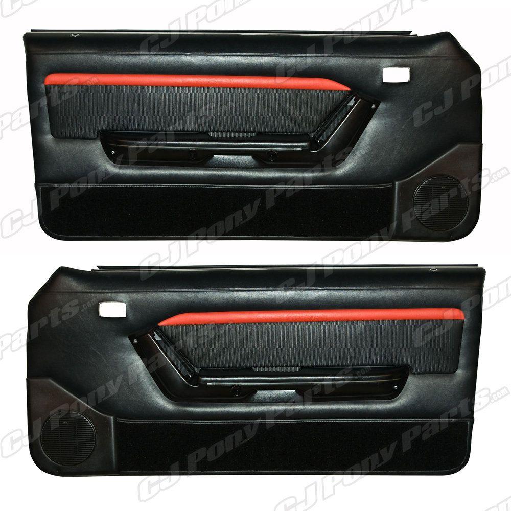 Mach 1 Door Panels For A Foxbody Panel Doors Mach 1 Mustang Convertible
