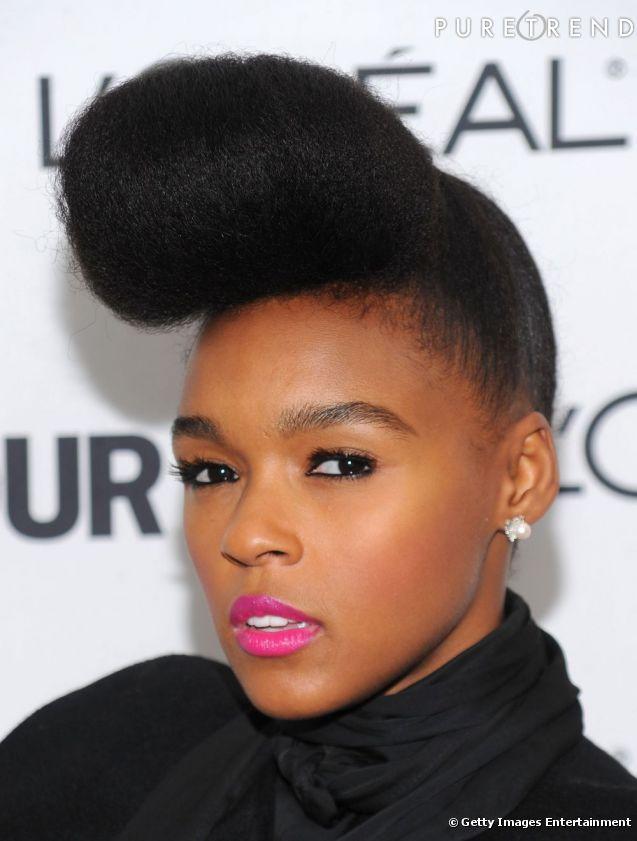 PHOTOS Coûtumière des coiffures afro décalées, Janelle