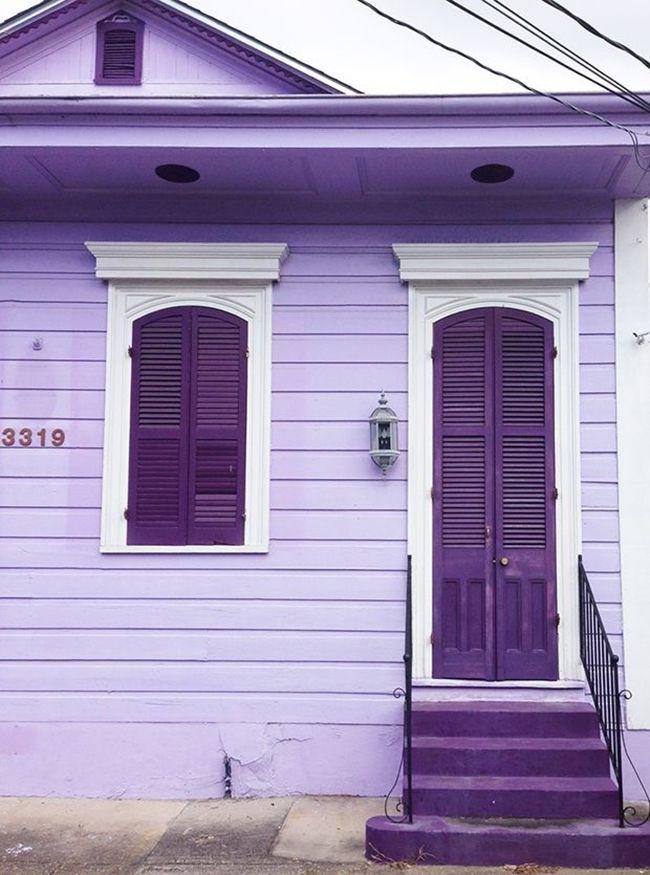 Purple House Purple Door Color Theory Pinterest Purple