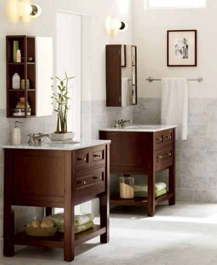 Used 2 Single Vanities Love These Vanities Found This Off Pottery Barn But Found An Ide Bathroom Design Gallery Bedroom Design Inspiration Bathroom Interior