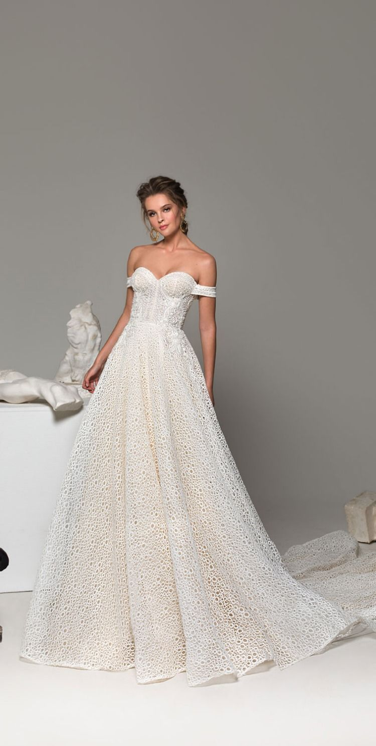 41 Best Off the Shoulder Wedding Dresses