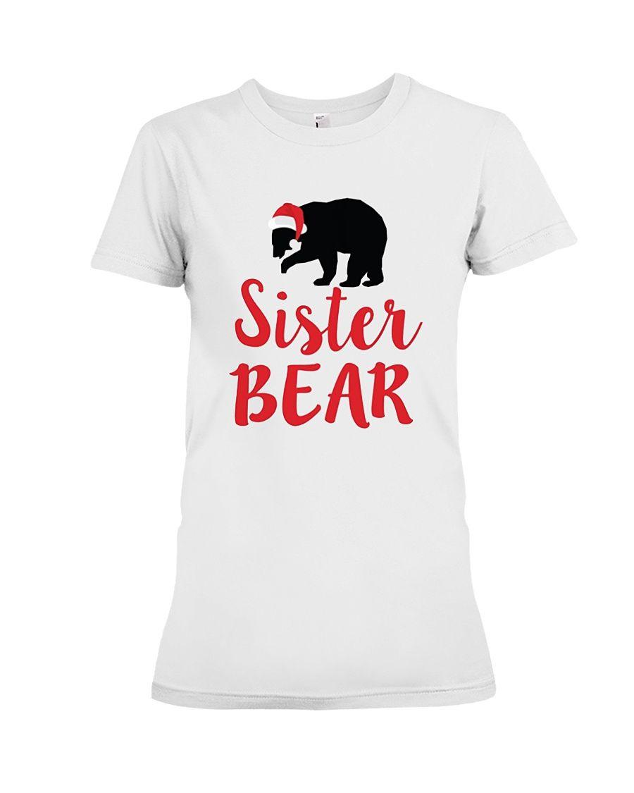 3026092c1 Fun Matching PJ Santa Bear Graphic Tee Shirts For Whole Family ...