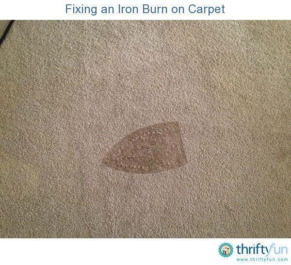 Repairing A Burn Mark On Carpet Carpet Repair Stain Remover Carpet Carpet