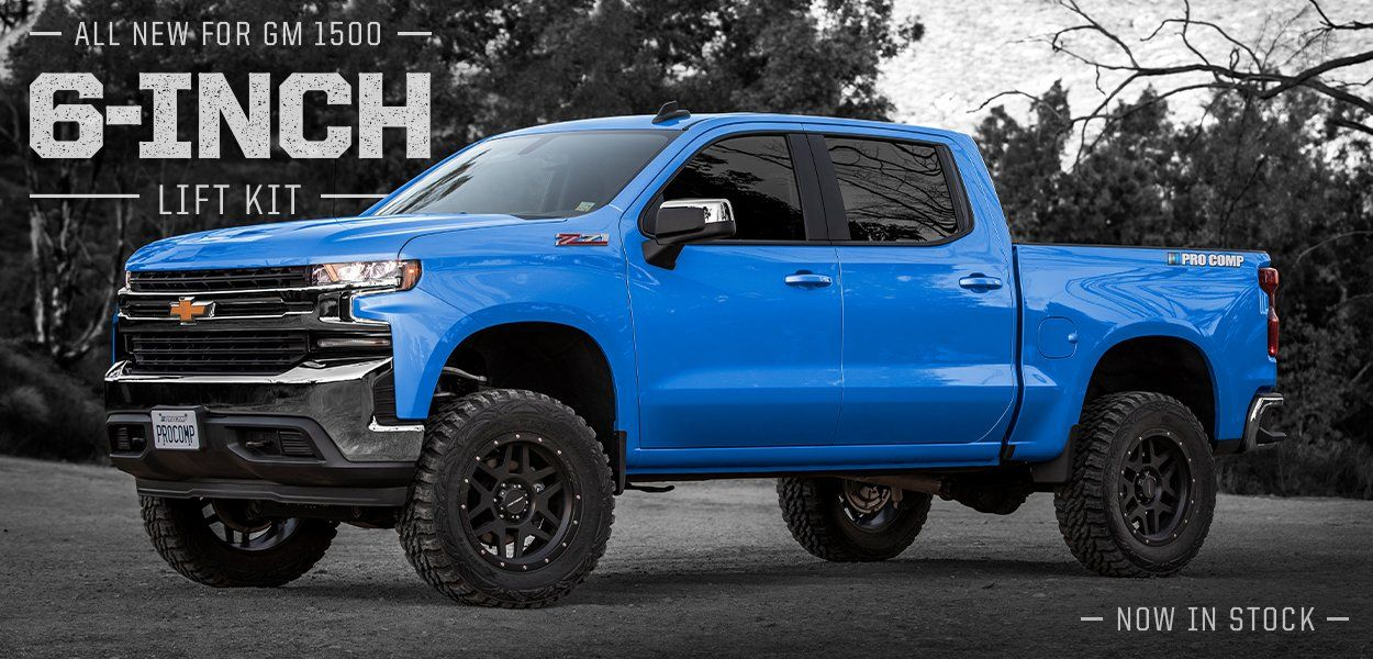 K1176b 6 Inch Lift Is For 2019 Chevrolet Custom And Lt Trail Boss Models With 2 Inch Factory Suspension Lift And Or Gmc At4 With 2 Inch Factory Installed Suspe Lifted Silverado Gmc Lifted Chevy