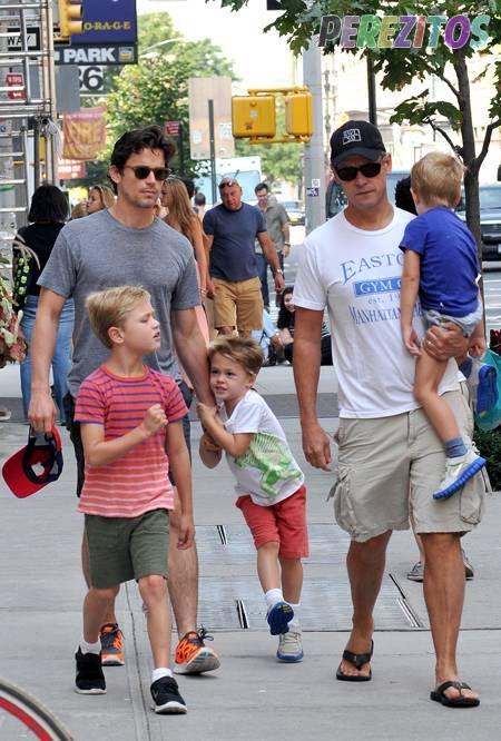 Matt Bomer His Husband And Their Three Children Kit Walker And