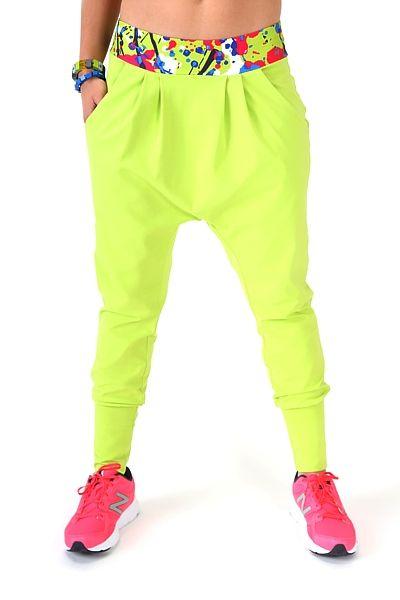 d46cfe28dc Spodnie z niskim krokiem w energicznym kolorze lemon. Są szałowe ...