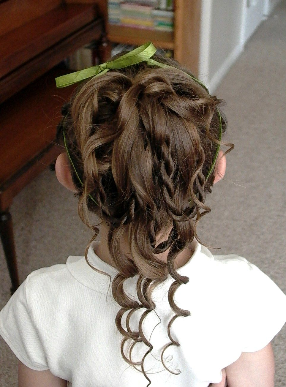 flower girl hairstyles thin hair - google search | flower