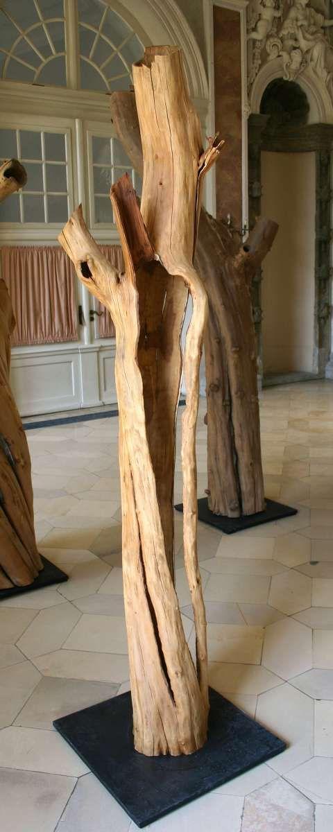 Obstgarten, offene Gestalt I | Unikate Urnen Skulpturen aus Holz - Form und Natur