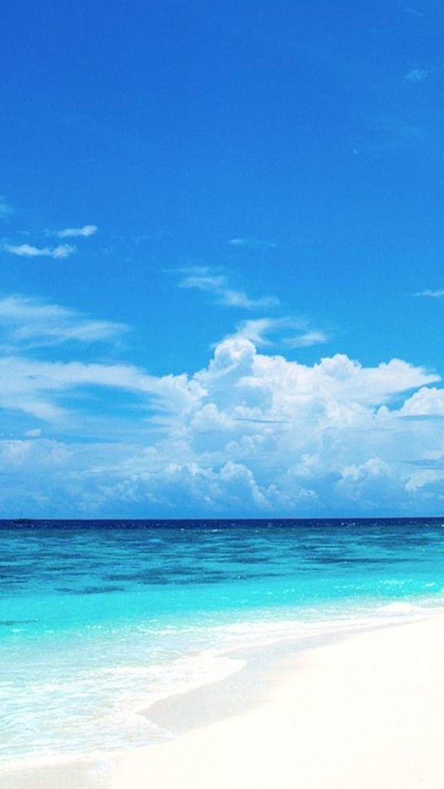 Nature Sunny Bright Beach Iphone Wallpapers Beach Landscape Beach Wallpaper Seaside Wallpaper