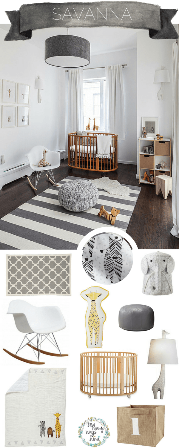 Savannah Dreaming! This Savannah Baby Nursery Theme is perfect for ...