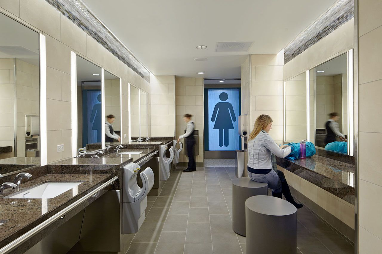 Why Corporate Bathrooms Stink And How Good Design Can Fix This Workplace Strategy And Design Architecture And Design San Francisco International