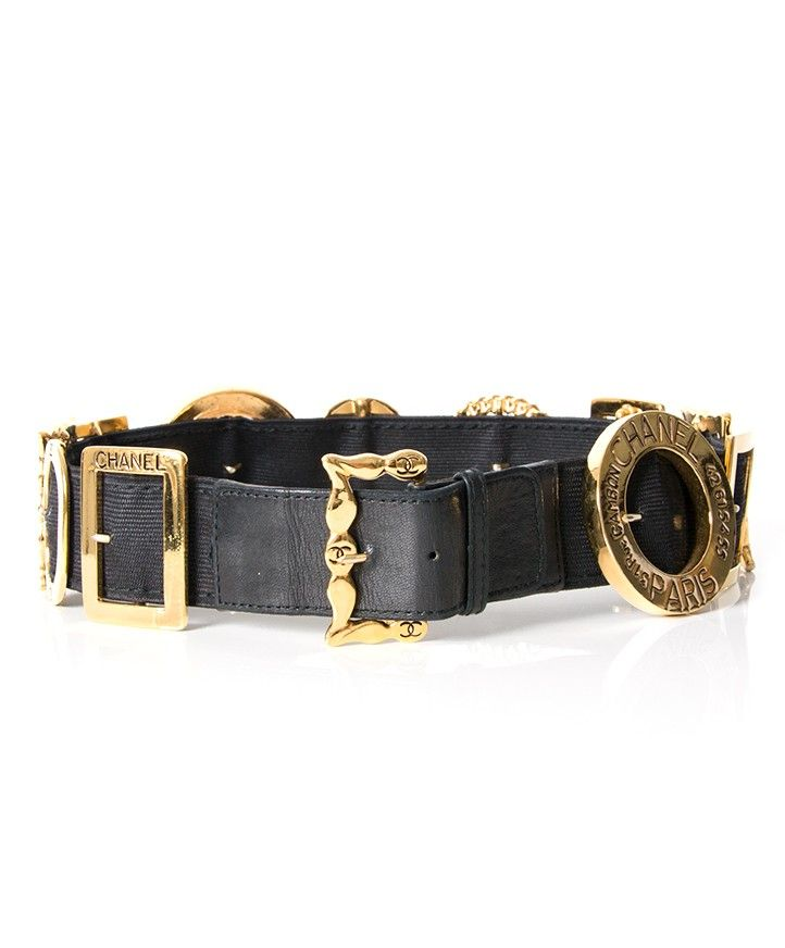 aae9c3b842fe Chanel Buckle Belt authentic secondhand designer luxury labels items brands  high-end online safe shopping webshop Antwerp Belgium LabelLOV fashion style