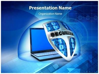 security shield powerpoint template is one of the best powerpoint, Powerpoint templates