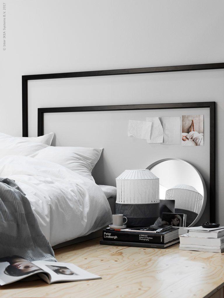 IKEA Deutschland | Schlafzimmerecke U.a. Mit MARIETORP Rahmen Http://www. Ikea.com/de/de/catalog/products/60298291/ #Schlafzimmertrend #Schlafzimmer  ...