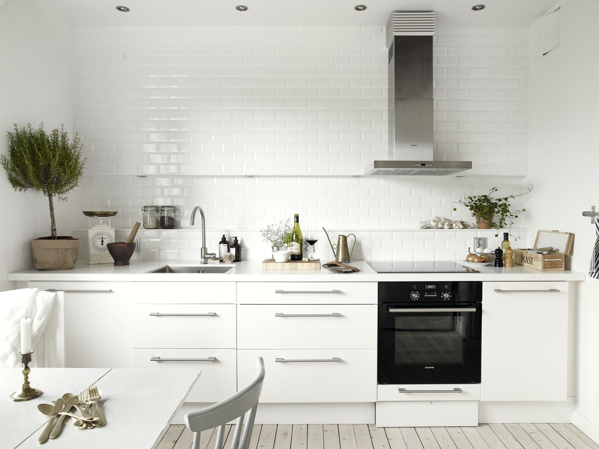 neutral tints coco lapine design kitchen subway tilesinterior design kitchenapartment