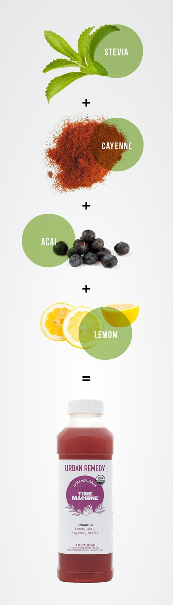 Acai Cayenne And Lemon Combine To Give Cold Pressed