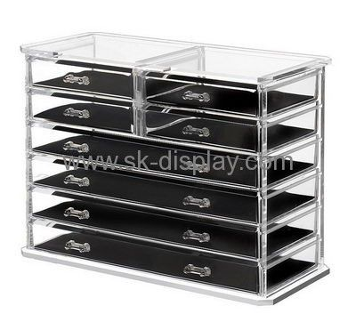 Custom Clear Box Makeup Organizer Countertop Makeup Storage Big