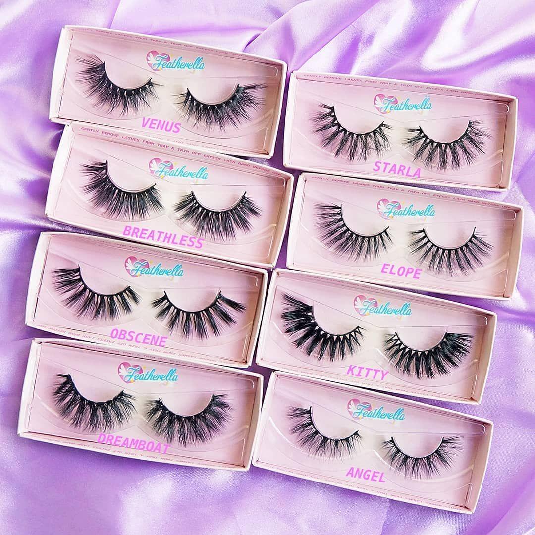 12bf30d372c Which lash style would you wear? 💕 3D faux mink lashes 💖  #crueltyfreebeauty #likeminkonlybetter 😻 Featherella.com
