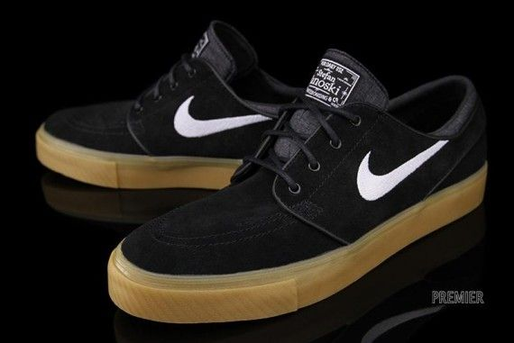 Nike Zoom Stefan Janoski - Black/White-Gum | Sole Collector