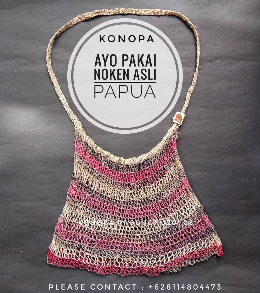 Pin On Seller Noken Traditional Bags From Papua