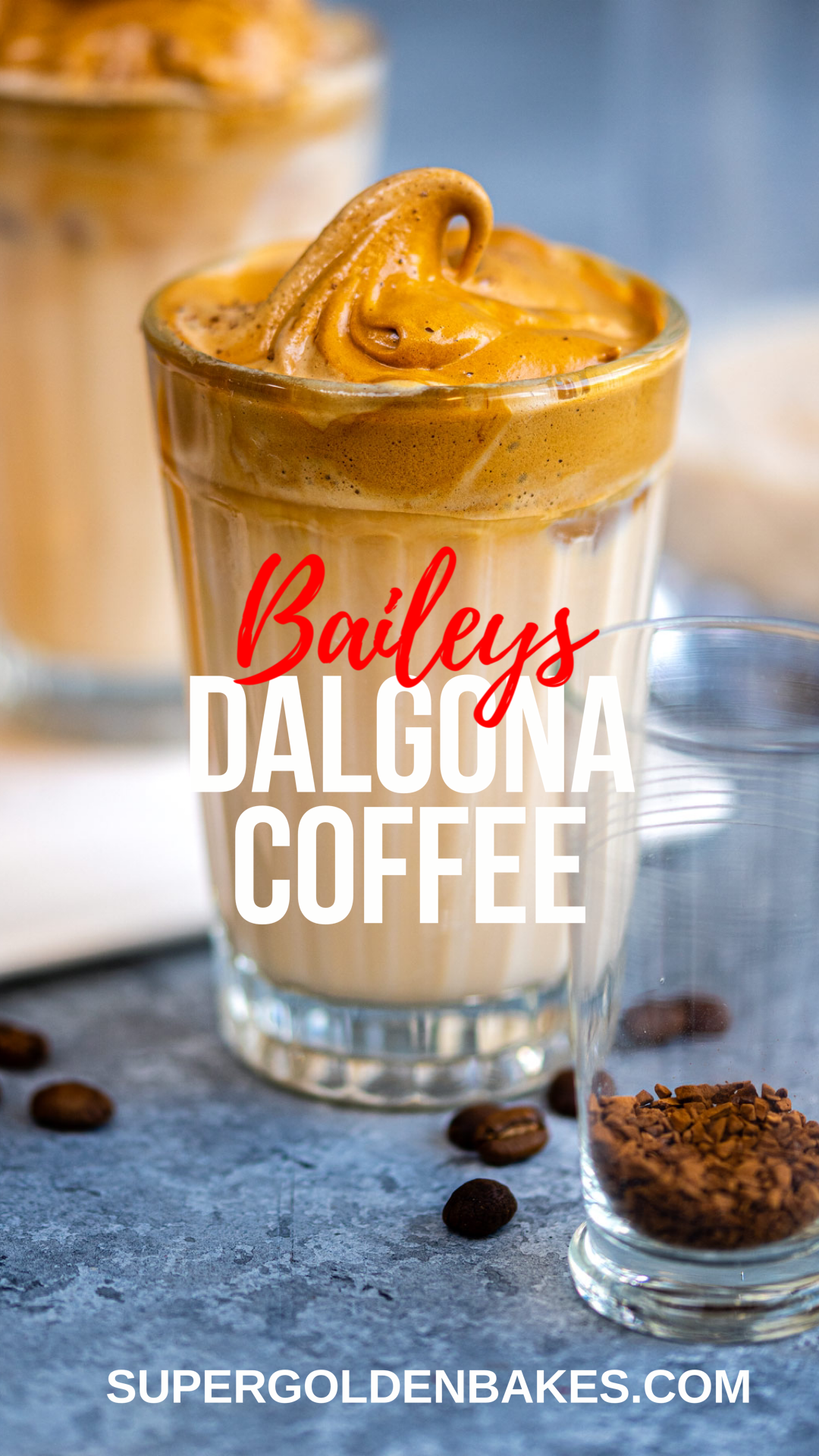 Baileys Whipped Coffee (Dalgona Coffee) in 2020 Ice