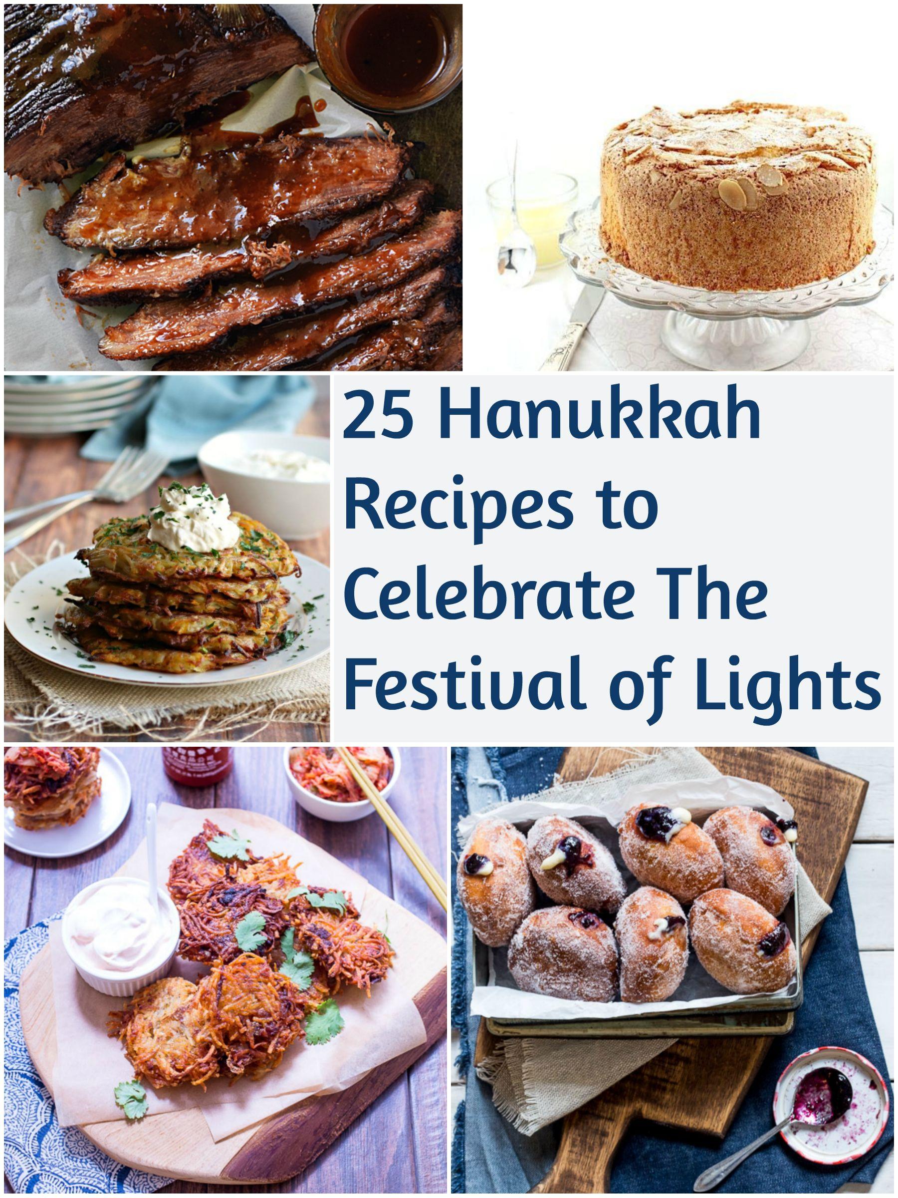 25 Hanukkah Recipes To Celebrate The Festival of Lights