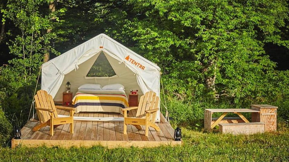 Want to Go Camping Without the Hastle? Tentrr is the Airbnb of Camping | Digital Trends | Camping, Go camping, Tent camping