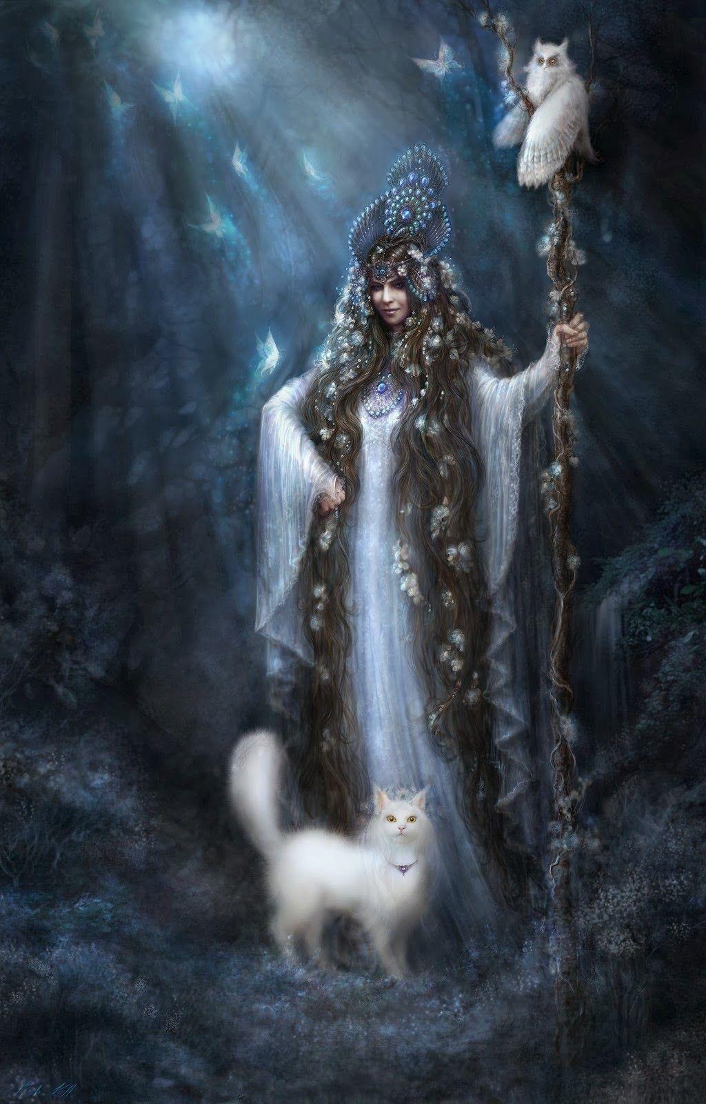 alain+klementieva+fantasy+and+modern+painter+20th+century+5+stars+phistars+witch+with+white+cat.jpg (1024×1600)