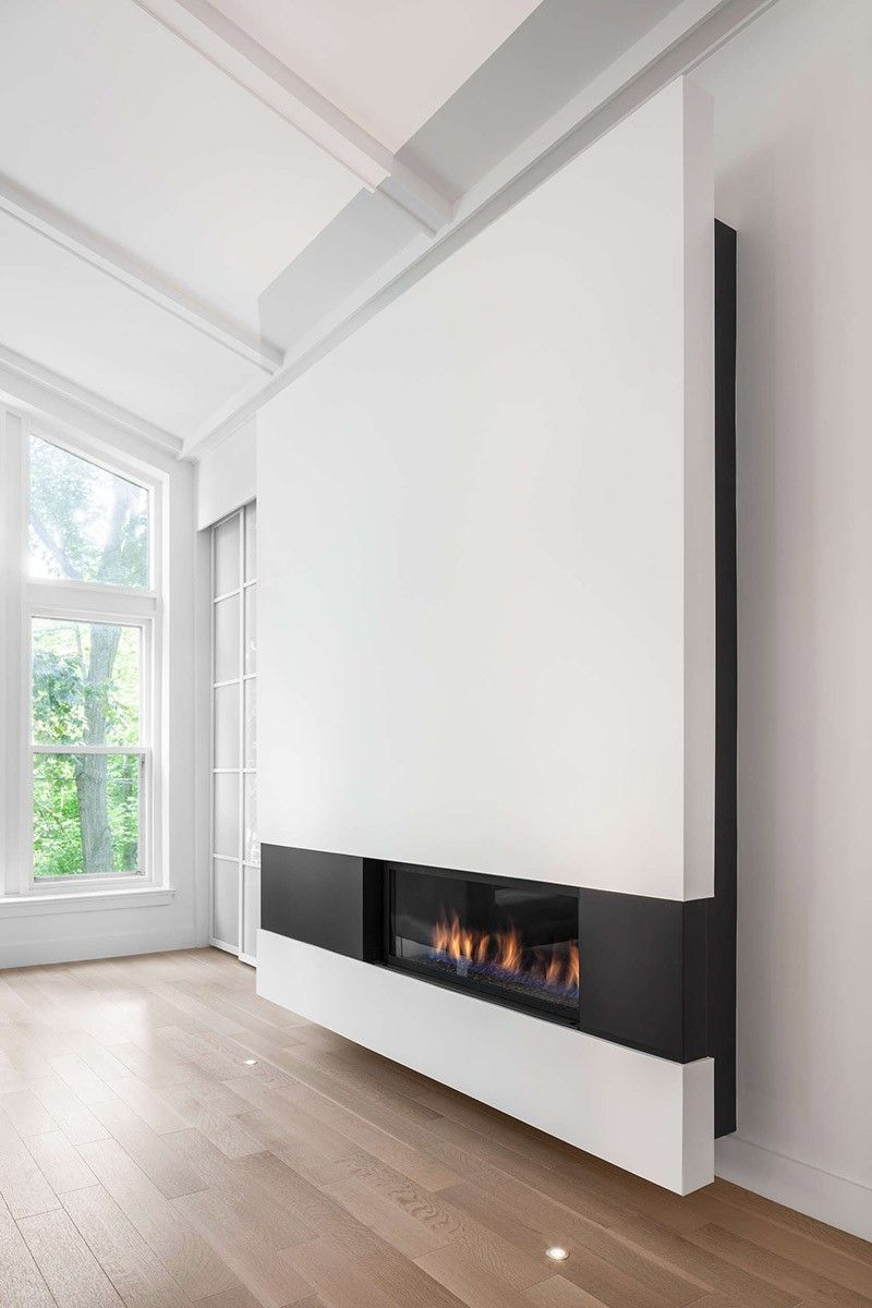 Perfekt Design Detail   A Modern Minimalist Fireplace Surround