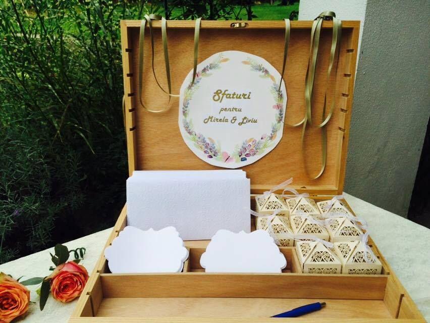 Wedding Suggestion Box Cutie Cu Sfaturi Pentru Miri