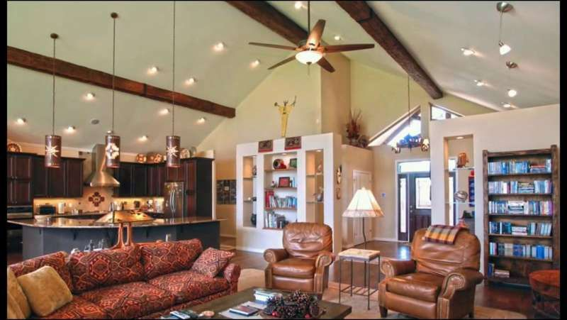 Living Room Cathedral Ceiling Lighting