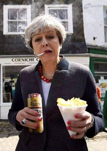 Image result for theresa may silly