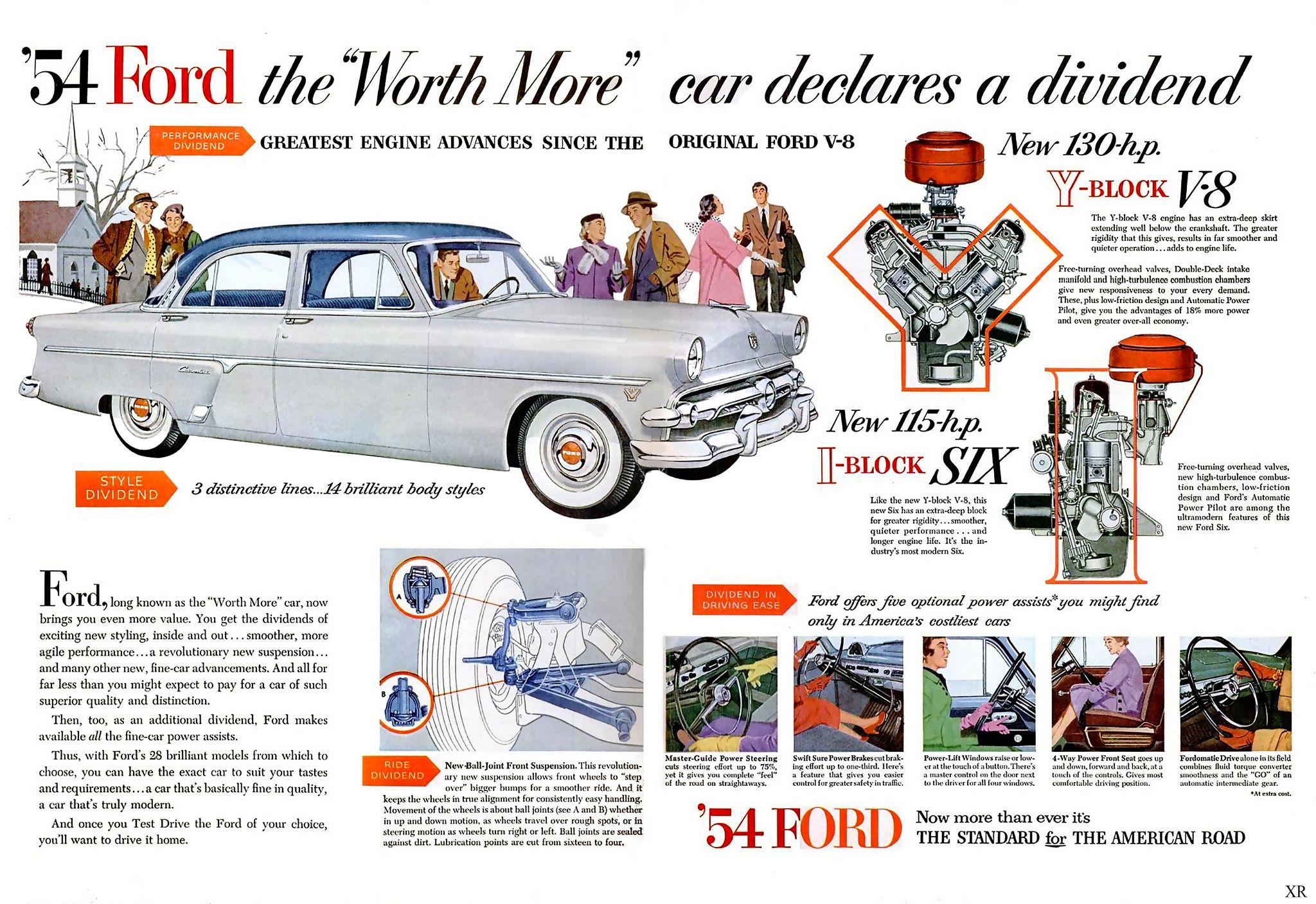 1953 Serg Eg Weyttt 04 R 1954 Ford Ford Motor Company